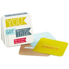 You Got This! Little Notes of Cheer to Share Gift Book