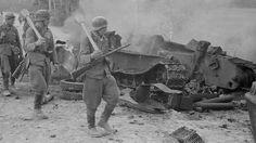 Destroyed Soviet T-34 in Tali-Ihantala 30.06.1944