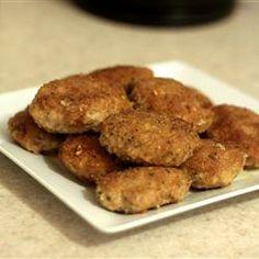 Chicken Burgers Allrecipes.com