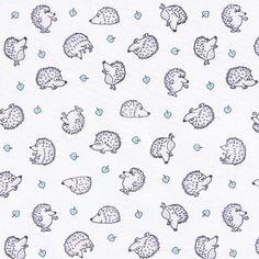 Cotton Hedgehog 2 - Cotton - white