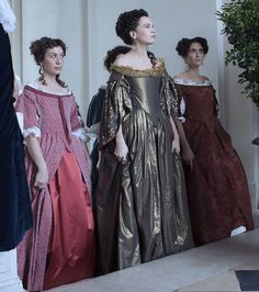 Versailles Costumes, The Good, the Bad, the Ugly 17th Century Clothing, 17th Century Fashion, Rococo Fashion, Vintage Fashion, Versailles, 18th Century Costume, Fantasy Dress, Gowns Of Elegance, Period Costumes