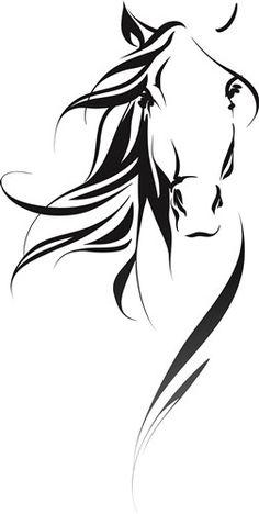 Head print art Animals print art at : Horse Head print art Animals print art at : Horse Head Drawing, Horse Drawings, Pencil Art Drawings, Simple Horse Drawing, Drawing Art, Vogel Silhouette, Animal Silhouette, Silhouette Art, Horse Stencil