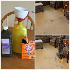 No more stains on your carpet. No more worrying about harmful chemicals from the pricy commercial carpet cleaning products. You can make your own carpet stain remover. It is simpler that you might thought. And you just use household items. Here are what you need: a squeeze bottle, hydrogen peroxide, …