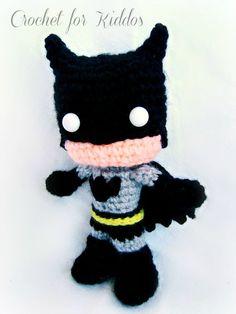Crochet PATTERN Batman