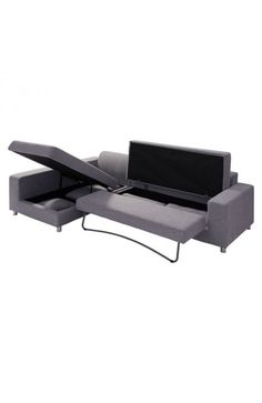 zuomod,Roxboro Sectional Sofa - 900653 For $1424. The Roxboro is our largest and most verstile sleeper. It extends in several ways to provide maximum real estate for sleeping or lounging. It is wrapped in a beautiful polyblend fabric.