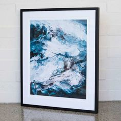 Chance Encounter - Tim Jones Fine Art Prints, Framed Prints, Wood Molding, Limited Edition Prints, All Print, Kiwi, Custom Framing, Living Room, Painting