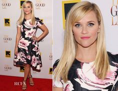 Reese Witherspoon In Christian Dior - 'The Good Lie' Washington DC Premiere