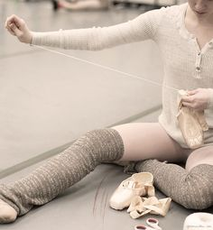 New York City Ballet | Warm Up | Ballerina Pointe Shoes | Garance Doré | Ballet