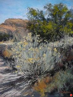 San Lorenzo Morning by Margi Lucena Pastel ~ 14 x 11