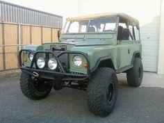 Custom 1969 Land Rover
