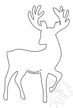 Best 9 Reindeer Ornament Template–use as a form to iris fold! Christmas Stencils, Christmas Templates, Christmas Yard, Christmas Colors, Christmas Crafts, Christmas Decorations, Christmas Ornaments, Ornament Template, Christmas Drawing