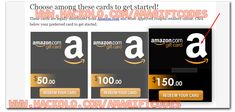 Get Free Amazon Gift Card Codes - No Software Needed