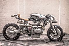 The Silver Bullet MKII is the second coming of the BMW RS Custom by XTR Pepo that took the moto-web by storm last year. The bike proved so popular that Bmw Cafe Racer, Cafe Bike, Cafe Racer Motorcycle, Motorcycle Design, Bike Design, Cafe Racers, Bike Bmw, Motorcycle Parts, Triumph Motorcycles