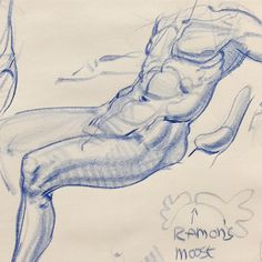 Demo in a students drawing pad- a draw-over really, just some construction stuff on top of a student's under-drawing. #artskills #artistsoninstagram #artworkshop #drawingskills #dibujo #dibujos #kunstwerk #drawingworkshop #drawinganatomyandart #copenhagenart
