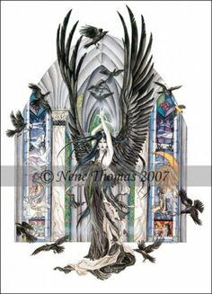 Faery of Ravens by Nene Thomas