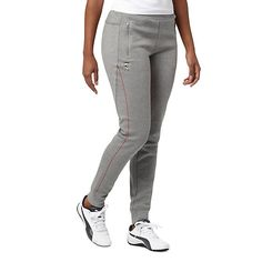 <p>With their soft construction, modern fit, and Ferrari-inspired design, these sweatpants will stand the test of time. Best worn with a tee and some fresh kicks, they'll rev up any casual outfit.</p><p>Features</p><ul><li>77% Cotton, 23% polyester</li><li>Elastic waistband for a snug fit</li><li>Dual zip pockets with taping detail</li><li>Cuffed ankles</li><li>Ferrari Shield Logo at right thigh</li><li>PUMA Cat Logo at left thigh</li></ul>