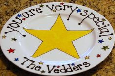 you're special b-day plate