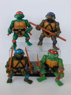 I was obsessed with Ninja Turtles.