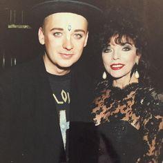 Boy George and Joan  80th?