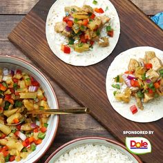 A bright Dole pineapple salsa takes these easy chicken teriyaki tacos to the next level! Check out more delicious ways to use Dole® pineapple by clicking the pin above. food recipes videos Chicken Teriyaki Tacos with Pineapple Salsa Healthy Recipe Videos, Healthy Dinner Recipes, Cooking Recipes, Cooking Ware, Cooking Beef, Oven Cooking, Vegetarian Cooking, Cooking Utensils, Asian Recipes