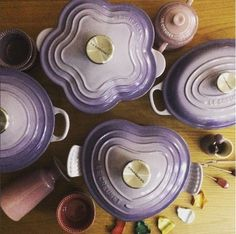 New Purple, coming soon~  Le Creuset Bluebell Purple!!