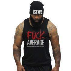 CT Fletcher - Fuck Average Tank - Black