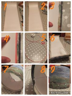 Part 3 of 3 on how I make felted lampshades