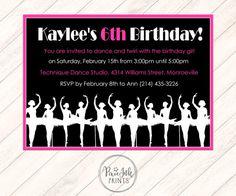16 best dancing invitation cards images on Pinterest | Invitation ...