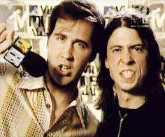 Krist Novoselic + Dave Grohl