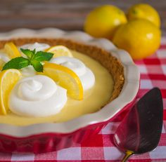 Recipe: Lemon Icebox Pie (using sweetened condensed milk, sour cream and egg yolks) - Southern Boy Dishes
