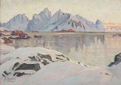 Anna Boberg (Swedish, 1864 - 1935): Lofoten