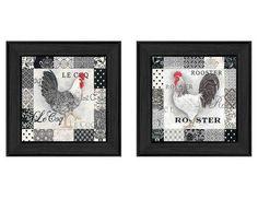 """V195 """"Rooster I"""" in 405 Black"""