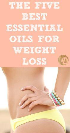 The Five Best Essential Oils For Weight Loss #essentialoils #weightloss #burnfat