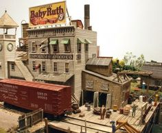 Downtown Hotel N scale miniature building kit - Google Search