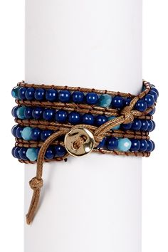ALEXIA CRAWFORD - Beaded Multi-Wrap Bracelet is now 64% off. Free Shipping on orders over $100.