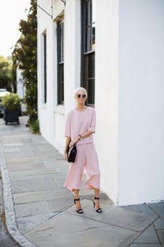 Chicwish Rouge Pink Set // Charleston Fashion Blogger Dannon, Like The Yogurt