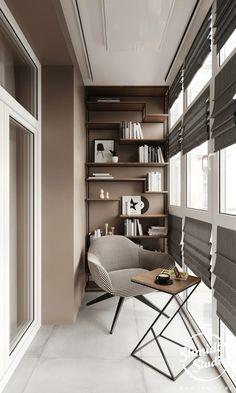 Apartment Interior, Home Interior Design, Tiny House Design, Interior Balcony, House Interior, Home Room Design, Apartment Design, Home Office Design, Apartment Balcony Decorating