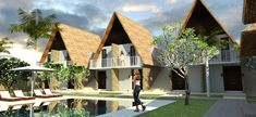 #lombok #residences #housing #architecture #villas