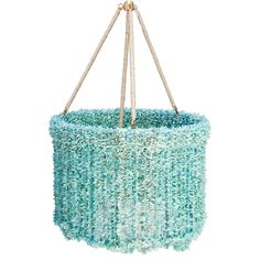 Ro Sham Beaux Lily Blue Quartz Chandelier A strong feature in a room filled with accents inspired by nature and the sea. Chandeliers, Beaded Chandelier, Chandelier Lighting, House Lighting, Ro Sham Beaux, Chic Nursery, Girl Nursery, Layla Grayce, Candle Lanterns