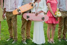 Skateboards Hochzeit