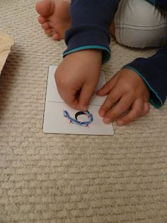 Counting and Numeral Recognition with Stickers