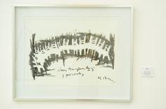 """""""Almas Transparentes"""" by Iliana Emilia García 22"""" x 30"""" Carboncillo sobre papel"""