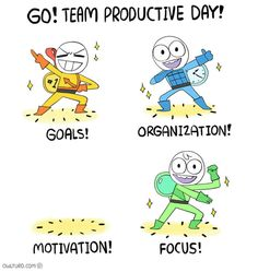 Goals, memes, and focus: go team productive day! s organization Really Funny, Funny Cute, The Funny, Funny Shit, Funny Jokes, Funny Fails, Funny Stuff, Funny Things, Random Stuff