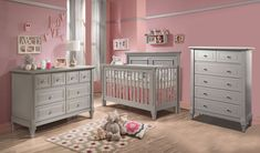 Natart Belmont 3 Piece Nursery Set