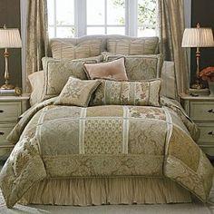 victorisn+comforters | Chris Madden® Victorian Luxe Comforter Set & More | Shop interior ...