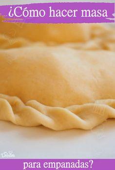 How to make dough for empanadas - Recetas Para Cocinar Postres Mexican Food Recipes, Dessert Recipes, Dinner Bread, How To Make Dough, Pan Dulce, Latin Food, Buffalo Chicken, Food And Drink, Cooking Recipes