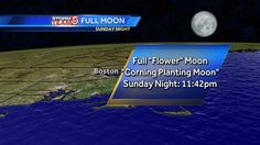 The actual full moon is tomorrow night, but it's pretty spectacular tonight. #wcvb