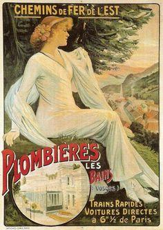 Chemins de Fer de l'Est : Plombières Les Bains