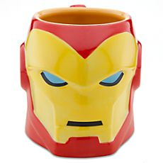 Iron Man Sculptured Mug - I will be extremely disappointed if I don't get one of these one day. I already have a ton of mugs but this is just too cute