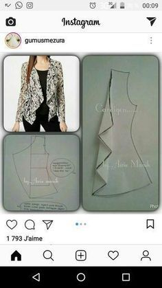 Amazing Sewing Patterns Clone Your Clothes Ideas. Enchanting Sewing Patterns Clone Your Clothes Ideas. Dress Sewing Patterns, Blouse Patterns, Clothing Patterns, Blouse Designs, Fashion Sewing, Diy Fashion, Ideias Fashion, Moda Fashion, Sewing Tutorials